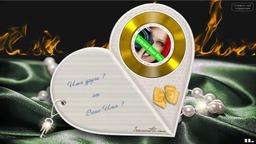 Музыкальная открытка с сюрпризом. Впишите свои Имена и отправьте на телефон любимым.