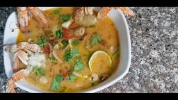 Простой и вкусный рецепт - Тай Том Ям (тайский суп с морепродуктами)