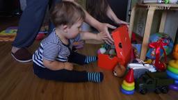 Развиваем любознательность малыша (1 год)