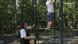 Польза лесенки в физическом развитии ребенка (4 года)