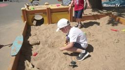 Развиваем мелкую моторику в песочнице (4 года)