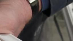 Шлифование грунтованного мебельного профиля на станках De Stefani 01