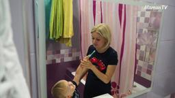 Учим ребенка чистить зубы