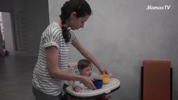 Развиваем ручки ребенка (10 месяцев)