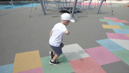 The development of physical abilities of the four-year-old child