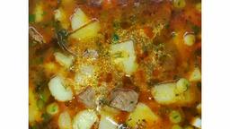 «Картошка тушёная с говядиной»
