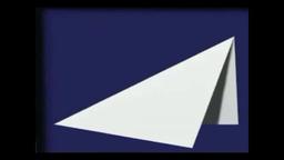 Бумажная модель самолета «Летучая мышь»