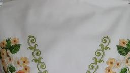 Вышитая блузка - Розы Шампань