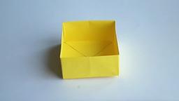 оригами коробочка, как сделать оригами коробочку  origami box
