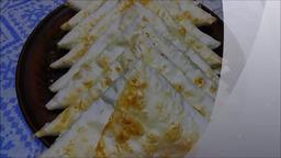 Лаваш с сыром и творогом