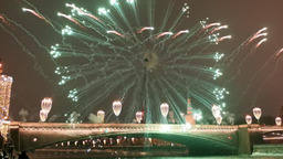 Новогодний салют 2021 у Красной площади