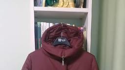 Зимнее пальто Twin Tip 99633 бордо