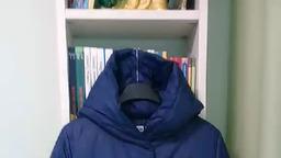 Демисезонное пальто Twin Tip 93552 синий