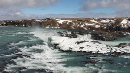 водопад Урризафосс Исландия