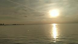Финский залив. Закат.
