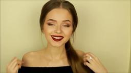 Осенний вечерний макияж от Яна Русая