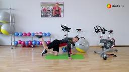 Упражнения для стройных ног и упругих ягодиц