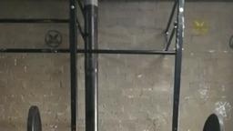 Overhead squat 35x3